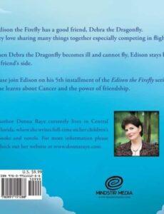 Edison the Firefly Debra the Dragonfly by donna raye | Mindstir Media Book Cover