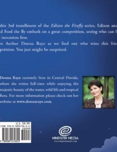 Edison the Firefly Ford the Fly by author Donna Raye | Mindstir Media Book Cover