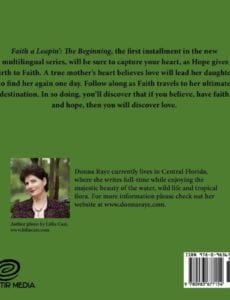 Faith a Leapin The Beginning Multilingual Edition by author Donna Raye | Mindstir Media Book Cover