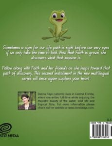 Faith a Leapin The Sign Multilingual Edition by author Donna Raye | Mindstir Media Book Cover
