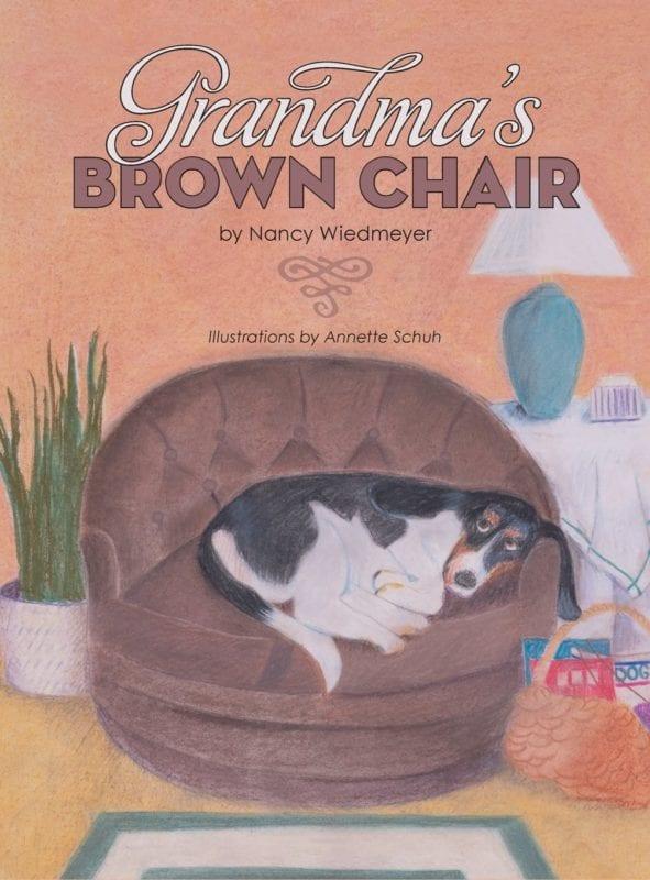 Grandmas Brown Chair by Nancy Wiedmeyer | Mindstir Media Book Cover
