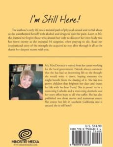 Im Still Here Musings of a Recovering Addict by author Patricia MacDonald | Mindstir Media Book Cover