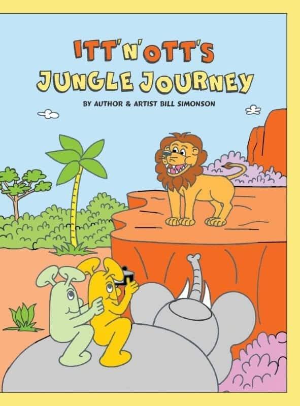 Itt N Otts Jungle Journey by Bill Simonson | Mindstir Media Book Cover
