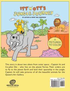 Itt N Otts Jungle Journey by author Bill Simonson | Mindstir Media Book Cover