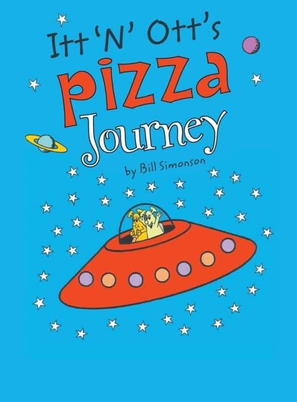 Itt N Otts Pizza Journey by Bill Simonson | Mindstir Media Book Cover