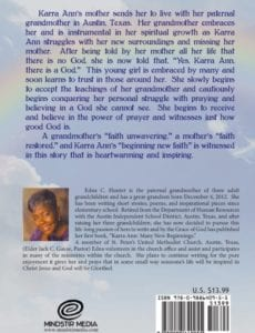 Karra Ann Many New Beginnings by author Edna C. Hunter | Mindstir Media Book Cover