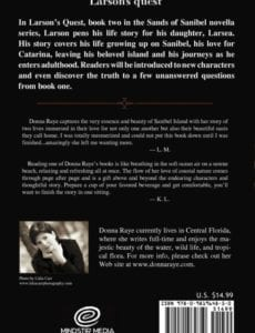 Larsons Quest Book Two Sands of Sanibel Series donna raye | Mindstir Media Book Cover