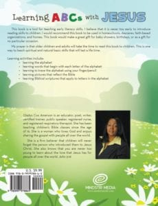 Learning ABCs with Jesus A Teaching Learning Tool by gladys amerson | Mindstir Media Book Cover