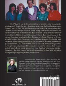 Life Journey of Four Children by Stella C. Louros author | Mindstir Media Book Cover