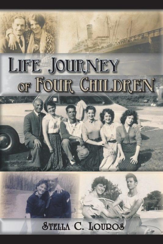 Life Journey of Four Children by Stella C. Louros | Mindstir Media Book Cover