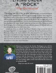 Living Under A Rock The Red House by Shannon Hannan memoir | Mindstir Media Book Cover