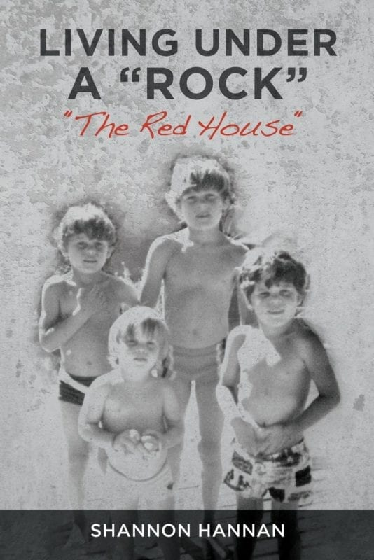 Living Under A Rock The Red House by Shannon Hannan | Mindstir Media Book Cover