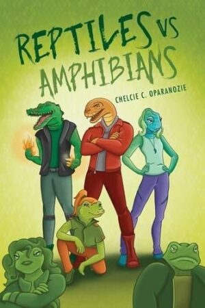 Reptiles vs. Amphibians by Chelcie C. Oparanozie | Mindstir Media Book Cover