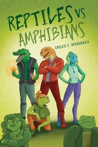 Reptiles vs. Amphibians by Chelcie C. Oparanozie | Mindstir Media Book Cover
