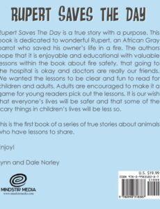 Rupert Saves the Day lynn norley | Mindstir Media Book Cover