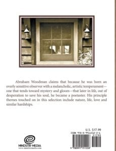 Selected Poems and Photographs by author Abraham Woodman | Mindstir Media Book Cover