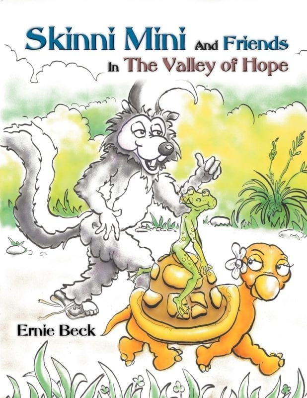 Skinni Mini and Friends in the Valley of Hope Premium Coloring Book 1   Mindstir Media Book Cover