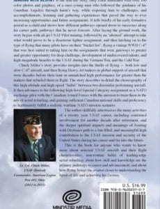Soaring with Destiny A USAF Pilots Memoirs of Challenges Experiences Accomplishments by Usaf Ret Lt Col Chuck Miller | Mindstir Media Book Cover