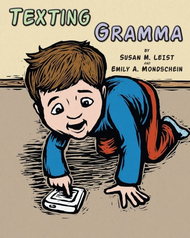 Texting Gramma by Susan M. Leist | Mindstir Media Book Cover