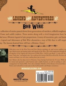 The Adventure of Bob Wire in Houston Book 5 by author Sam Skinner | Mindstir Media Book Cover
