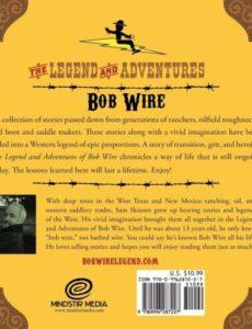 The Adventure of Bob Wire in Oklahoma by sam skinner | Mindstir Media Book Cover