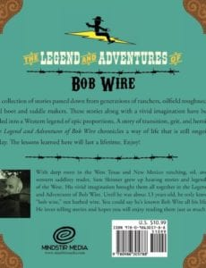 The Adventure of Bob Wire the Gol Durn Wheel Book 2 by author Sam Skinner   Mindstir Media Book Cover