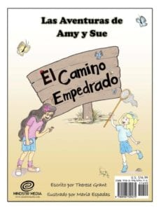 The Adventures of Amy and Sue The Bumpy Dirt Road spanish 1 | Mindstir Media Book Cover