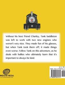 The Adventures of Charley McChooChoo Tanks Glasses by author Trevor Davis   Mindstir Media Book Cover
