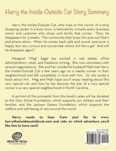 The Adventures of Harry the Inside Outside Cat | Mindstir Media Book Cover