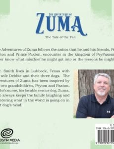 The Adventures of Zuma The Tale of the Tail by author B.R. Smith | Mindstir Media Book Cover