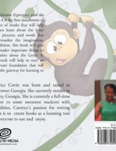 The Alphabet Experience with the Letter A by author Cartrice Covin | Mindstir Media Book Cover