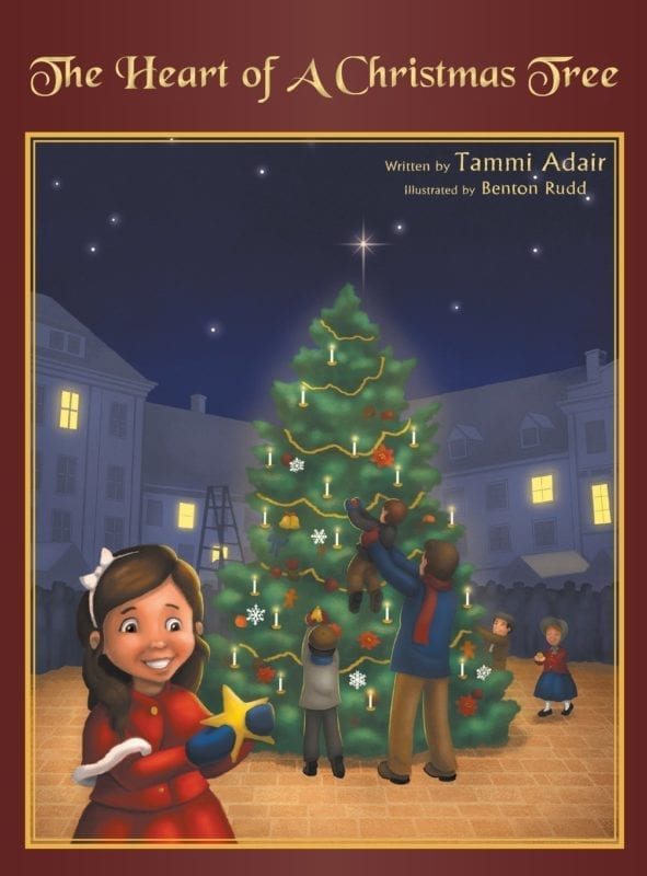 The Heart of a Christmas Tree by Tammi Adair | Mindstir Media Book Cover