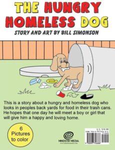 The Hungry Homeless Dog bill simonson | Mindstir Media Book Cover