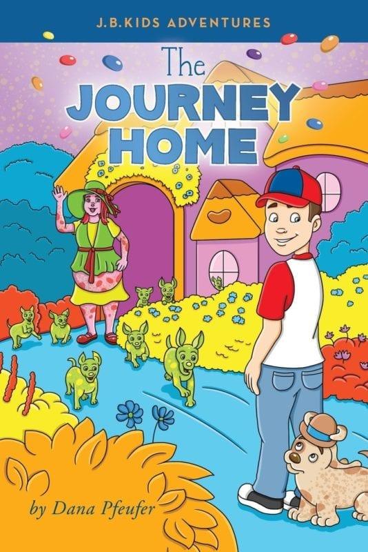 The Journey Home by Dana Pfeufer | Mindstir Media Book Cover