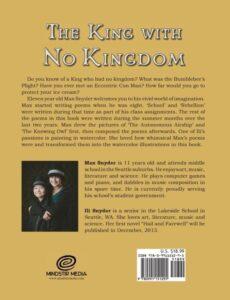 The King with No Kingdom max snyder | Mindstir Media Book Cover