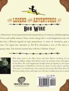 The Legend of Bob Wire by author Sam Skinner | Mindstir Media Book Cover