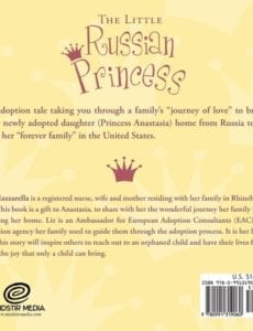 The Little Russian Princess by Liz Mazzarella adoption | Mindstir Media Book Cover