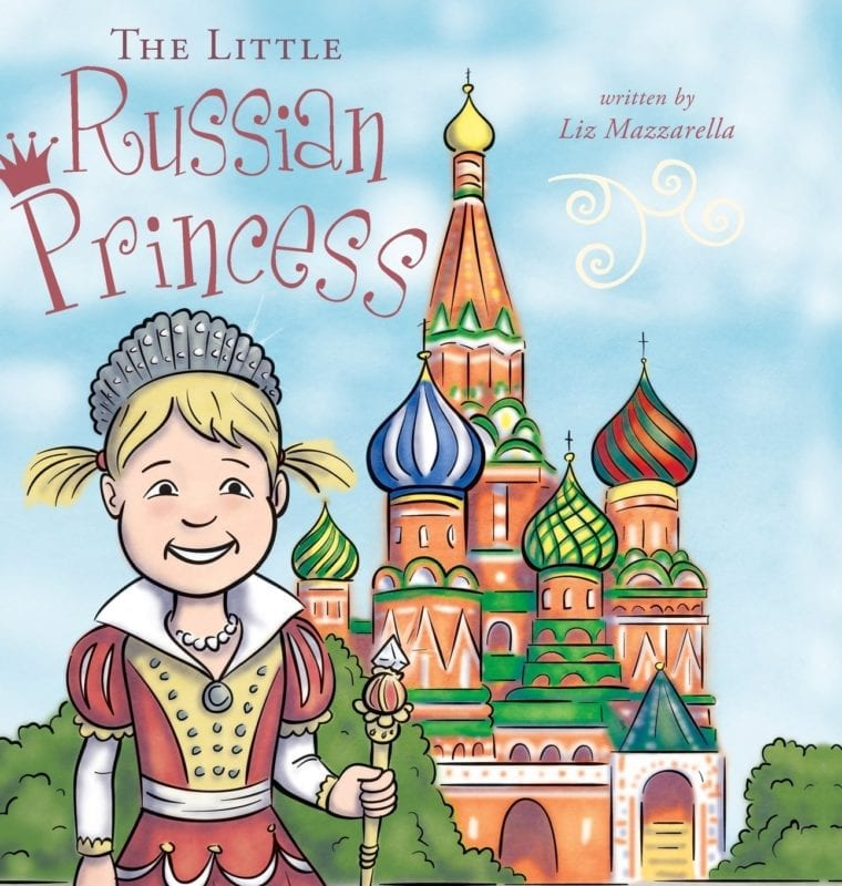 The Little Russian Princess by Liz Mazzarella | Mindstir Media Book Cover