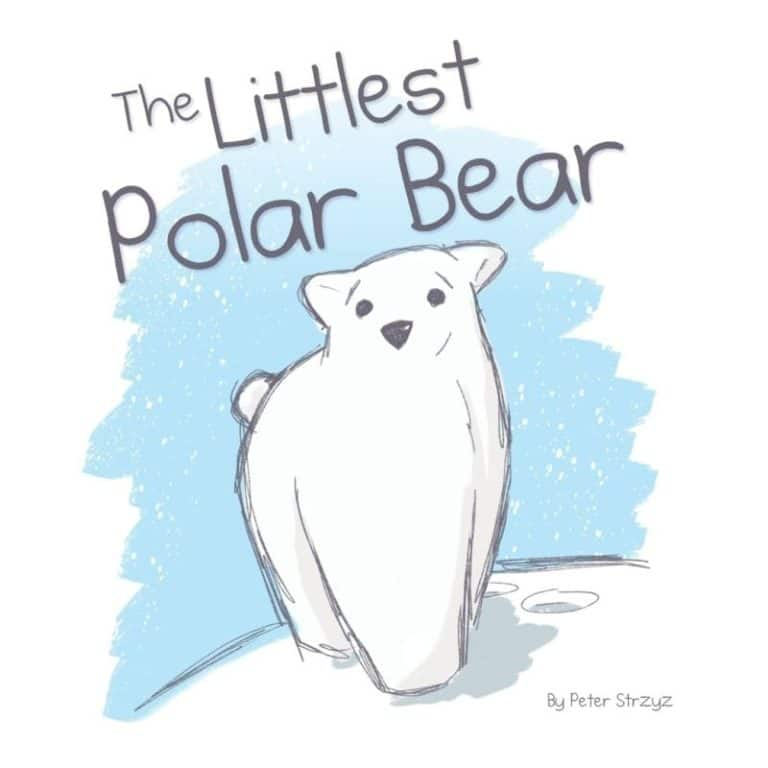 The Littlest Polar Bear | Mindstir Media Book Cover