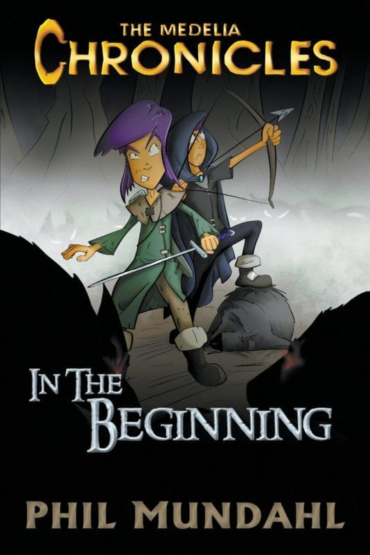 The Medelia Chronicles In The Beginning   Mindstir Media Book Cover
