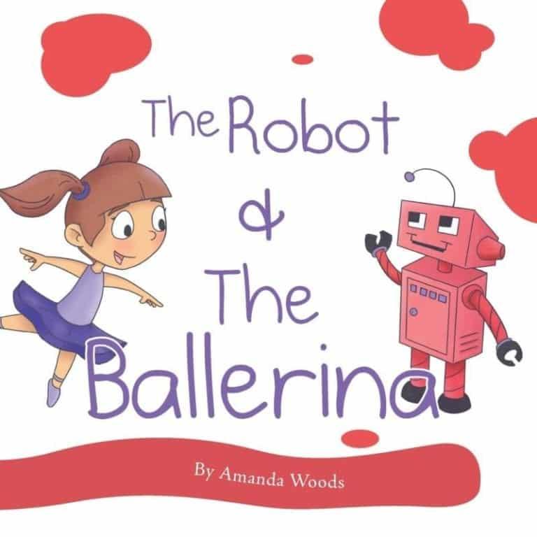 The Robot The Ballerina by Amanda Woods | Mindstir Media Book Cover