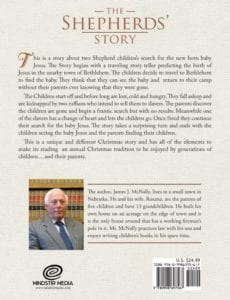 The Shepherds Story by author James McNally | Mindstir Media Book Cover