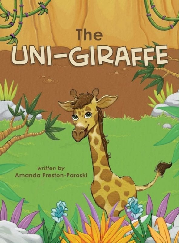The Uni Giraffe | Mindstir Media Book Cover