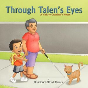 Through Talens Eyes A Visit to Grandmas House | Mindstir Media Book Cover
