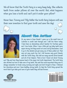Tommy Helfer the Tooth Fairy Helper by Hope Newell | Mindstir Media Book Cover