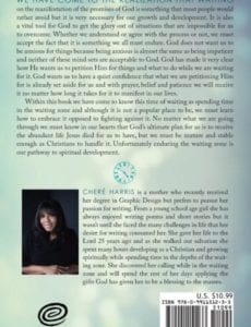Waiting on Gods Promises by author Chere Harris | Mindstir Media Book Cover