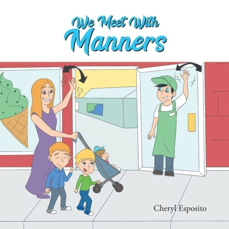We Meet with Manners by Cheryl Esposito | Mindstir Media Book Cover