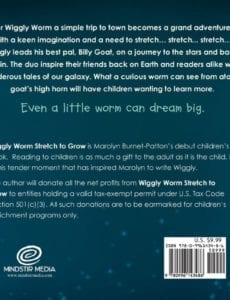 Wiggly Worm Stretch to Grow by Marolyn Burnet Patton childrens author | Mindstir Media Book Cover