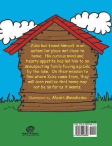 Zuko the Zany Dog by The Mendicino family | Mindstir Media Book Cover