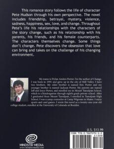 change Dylan Anders Porter | Mindstir Media Book Cover